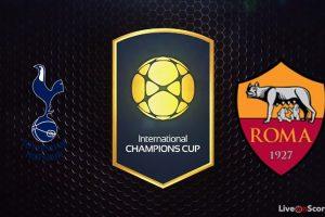 نتيجة وملخص أهداف مباراة روما وتوتنهام اليوم في الكأس الدولية للأبطال بجودة عالية