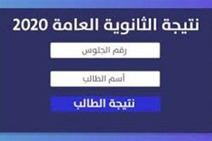 نتيجة الثانوية العامة 2020 |تعرف على نتيجة الثانوية العامة برقم الجلوس الآن من مصراوي واليوم السابع وبوابة الثانوية العامة | ظهرت الان اوائل الثانوية العامة 2020