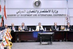 إستقبال وفدا من الجمعية المصرية اللبنانية بهدف تنشيط الإستثمار