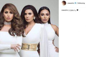 مي سليم تنشر صورة مع شقيقاتها في الساحل الشمالي لتتجاهل خبر طلاقها