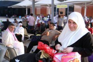 الحكومة المصرية قدمت يد المساعدة للحجاج الفلسطينيين