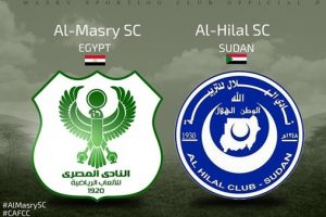 نتيجة وملخص أهداف مباراة المصري والهلال في كأس الإتحاد الأفريقي اليوم بجودة عالية HD
