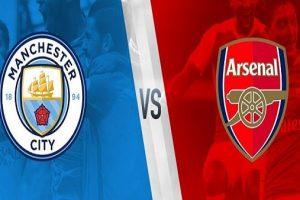 نتيجة وملخص أهداف مباراة ارسنال ومانشستر سيتى اليوم في الدوري الانجليزي بجودة عالية HD