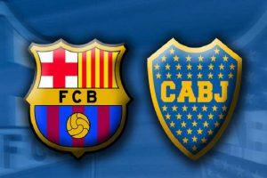 يلا شوت مشاهدة بث مباشر مباراة برشلونة و بوكا جونيورز الودية اليوم في كأس خوان غامبر بجودة عالية HD