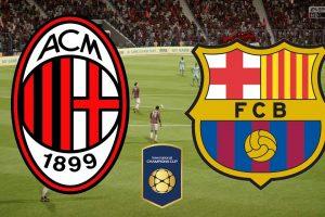 نتيجة وملخص أهداف مباراة برشلونة وميلان اليوم في الكأس الدولية للأبطال بجودة عالية HD