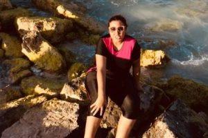 مي كساب بنت بلد، تقضي أجازتها الصيفية في مرسى مطروح وبلطيم ورأس البر
