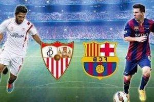 تردد قناة مفتوحة تنقل مشاهدة مباراة برشلونة واشبيلية اليوم في السوبر الإسباني 2018 مجانا علي النايل سات