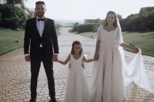 زواج محمود حجازي وأسما شريف منير يشعل السوشيال ميديا