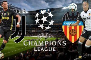 يلا شوت مشاهدة بث مباشر مباراة يوفنتوس وفالنسيا اليوم في دوري أبطال أوروبا بجودة عالية HD
