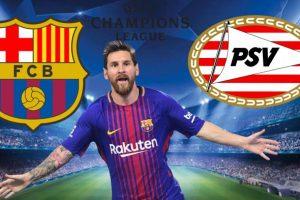 تردد قناة مفتوحة تنقل مشاهدة مباراة برشلونة وأيندهوفن بث مباشر  اليوم في دوري أبطال أوروبا مجانا علي النايل سات