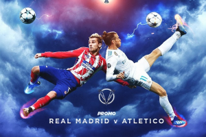 نتيجة وملخص أهداف مباراة ريال مدريد وأتلتيكو مدريد اليوم في الدوري الاسباني بجودة عالية HD