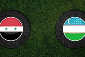 نتيجة وملخص أهداف مباراة سوريا وأوزباكستان الودية اليوم بجودة عالية HD