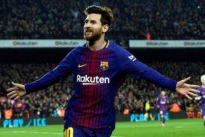 برشلونة يتوقع استمرار ميسي حتى الأربعين