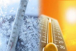 درجات الحرارة في مدن وعواصم العالم اليوم الخميس 1/11/2018