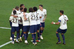 نتيجة وملخص اهداف مباراة باريس سان جيرمان ومارسيليا اليوم كلاسيكو الدوري الفرنسي