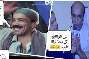 سليمان عيد يحتفل بعيد ميلاده الـ 49 عن طريق الكوميكس