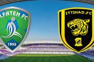 نتيجة وملخص أهداف مباراة الإتحاد والفتح اليوم في الدوري السعودي للمحترفين بجودة عالية HD