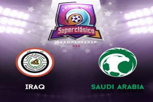 يوتيوب ..يلا شوت مشاهدة بث مباشر مباراة السعودية والعراق اليوم في السوبر كلاسيكو في البطولة الرباعية لكرة القدم
