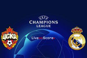 تردد قناة مفتوحة تنقل مشاهدة مباراة ريال مدريد وسيسكا موسكو بث مباشر اليوم في دوري أبطال أوروبا مجانا علي النايل سات