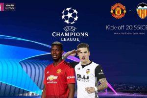 نتيجة وملخص أهداف مباراة مانشستر يونايتد وفالنسيا اليوم في دوري أبطال أوروبا بجودة عالية HD