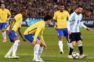 رابط يلا شوت مشاهدة بث مباشر مباراة البرازيل والأرجنتين الودية الدولية اليوم في البطولة الرباعية لكرة القدم