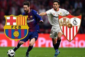 نتيجة وملخص أهداف مباراة برشلونة وإشبيلية اليوم 20-10-2018 في الدوري الإسباني