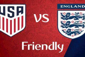 يلا شوت مشاهدة بث مباشر مباراة إنجلترا والولايات المتحدة اليوم الخميس 15/11/2018 في مباراة دولية ودية