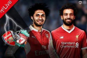 نتيجة وملخص أهداف مباراة ليفربول وارسنال اليوم 3-11-2018 في الدوري الإنجليزي بمشاركة محمد صلاح