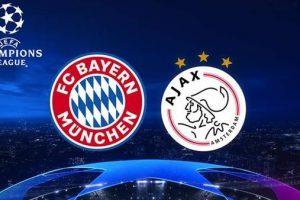 يلا شوت مشاهدة بث مباشر مباراة بايرن ميونخ وأياكس الأربعاء 12/12/2018 في دوري أبطال أوروبا