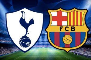يلا شوت مشاهدة بث مباشر مباراة برشلونة وتوتنهام اليوم الثلاثاء 11-12-2018 في دوري أبطال أوروبا