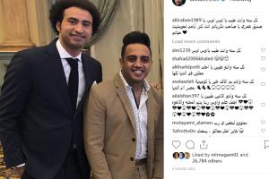 نجوم مسرح مصر يتمنون السعادة لـ أوس أوس في عيد ميلاده