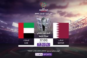نتيجة وملخص أهداف مباراة الإمارات وقطر Qatar vs UAE اليوم 29-1-2019 نصف نهائي كأس الأمم الآسيوية