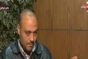 سائق جرار محطة مصر في مقابلة مع وائل الابراشي: أنا المسؤول عن الحادث