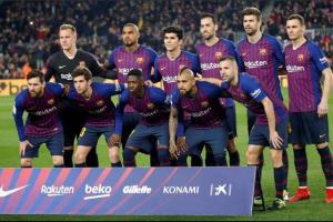 تردد قناة مفتوحة تنقل مشاهدة بث مباشر مباراة برشلونة وليون اليوم الثلاثاء 19-2-2019 في دوري أبطال أوروبا