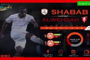نتيجة وملخص أهداف مباراة الشباب والوحدة اليوم الجمعة 15-2-2019 في الدوري السعودي