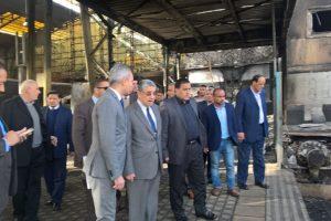 وزير الكهرباء يتفقد محطة مصر لمتابعة سير العمل فيها بشكل مؤقت حتى اختيار وزير النقل الجديد