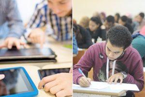 التعليم تسليم التابلت لكافة الطلاب باستثناء 20 ألف طالب بالمدارس الخاصة