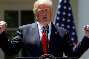 تصريح جديد من الرئيس الأمريكي بشأن الحرب مع طهران