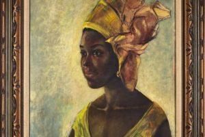 عائلة أفريقية تدخل عالم الأثرياء في لحظة بسبب لوحة الموناليزا الإفريقية