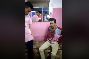 إلقاء القبض على مرتكبي حادثة تنمر ضد شاب معاق ذهنياً بصالون حلاقة بالشرقية