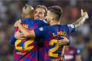 نتيجة وملخص أهداف مباراة برشلونة وفالنسيا اليوم السبت 14-9-2019 يلا شوت الجديد  في الدوري الإسباني