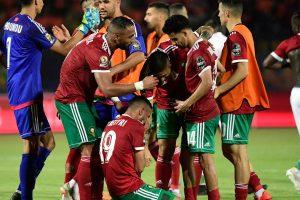 نتيجة وملخص أهداف مباراة المغرب والجابون اليوم  15-10-2019 في مباراة دولية ودية