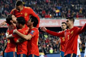 يلا شوت مشاهدة بث مباشر مباراة إسبانيا ورومانيا اليوم الإثنين 18-11-2019 في تصفيات كأس أمم أوروبا 2020