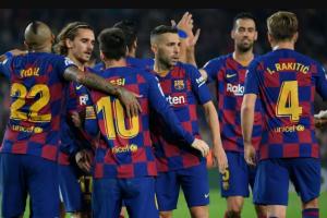 نتيجة وملخص أهداف مباراة برشلونة وريال مايوركا اليوم السبت 7-12-2019 يلا شوت الجديد في الدوري الإسباني