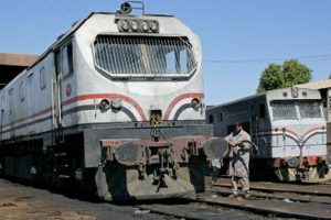 السكك الحديد تعلن عن التفاصيل كاملة لاحتكاك جرار زراعي بقطار ركاب بالمنصورة