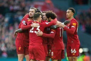 نتيجة وملخص أهداف مباراة ليفربول ومانشستر يونايتد اليوم الأحد 19-1-2020 في الدوري الإنجليزي الممتاز
