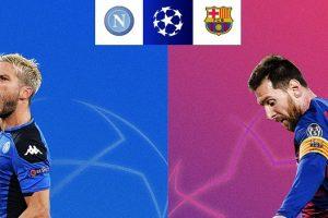نتيجة وملخص أهداف مباراة برشلونة ونابولي اليوم 25-2-2020  يلا شوت الجديد برشلونة دوري أبطال أوروبا