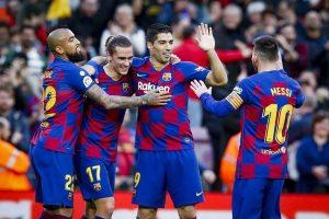 قناة مفتوحة تنقل مشاهدة مباراة برشلونة ونابولي بث مباشر مجاناً اليوم الثلاثاء 25-2-2020 في دوري أبطال أوروبا