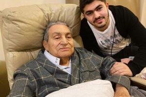 حفيد مبارك ينعيه بكلمات مؤثرة