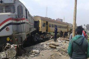 خروج قطار عن القضبان دون إصابات في شربين